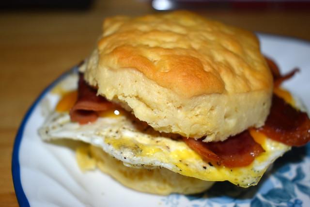 Biscuit Sandwich.