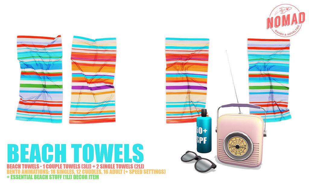 NOMAD // BENTO Beach Towels