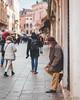 Scatti di street tra le vie di Venezia