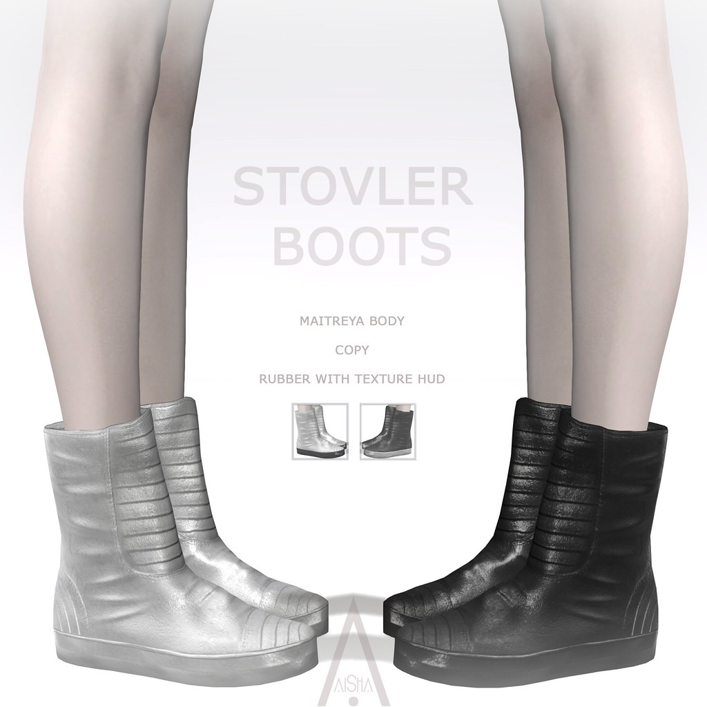 AiShA Stovler Boots @Cyber/Punk 2020