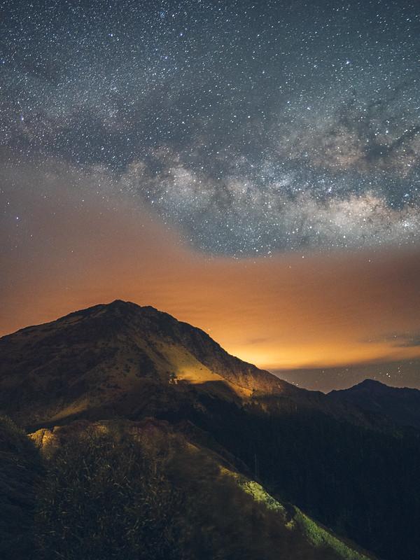 Milkyway at Mt. Hehuan 合歡山銀河