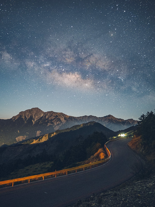 Milkyway at Mt. Hehuan|合歡山銀河