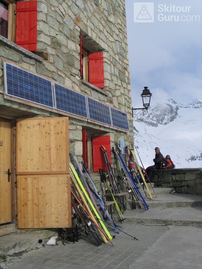 Cabane des Dix Walliser Alpen / Alpes valaisannes Švýcarsko foto 07