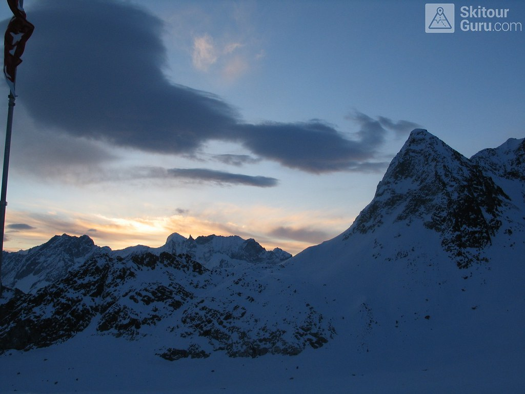 Cabane des Dix Walliser Alpen / Alpes valaisannes Švýcarsko foto 05