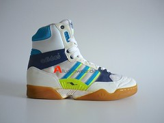 UNWORN VINTAGE ADIDAS TORSION HANDBALL SPORT SHOES / HI TOPS