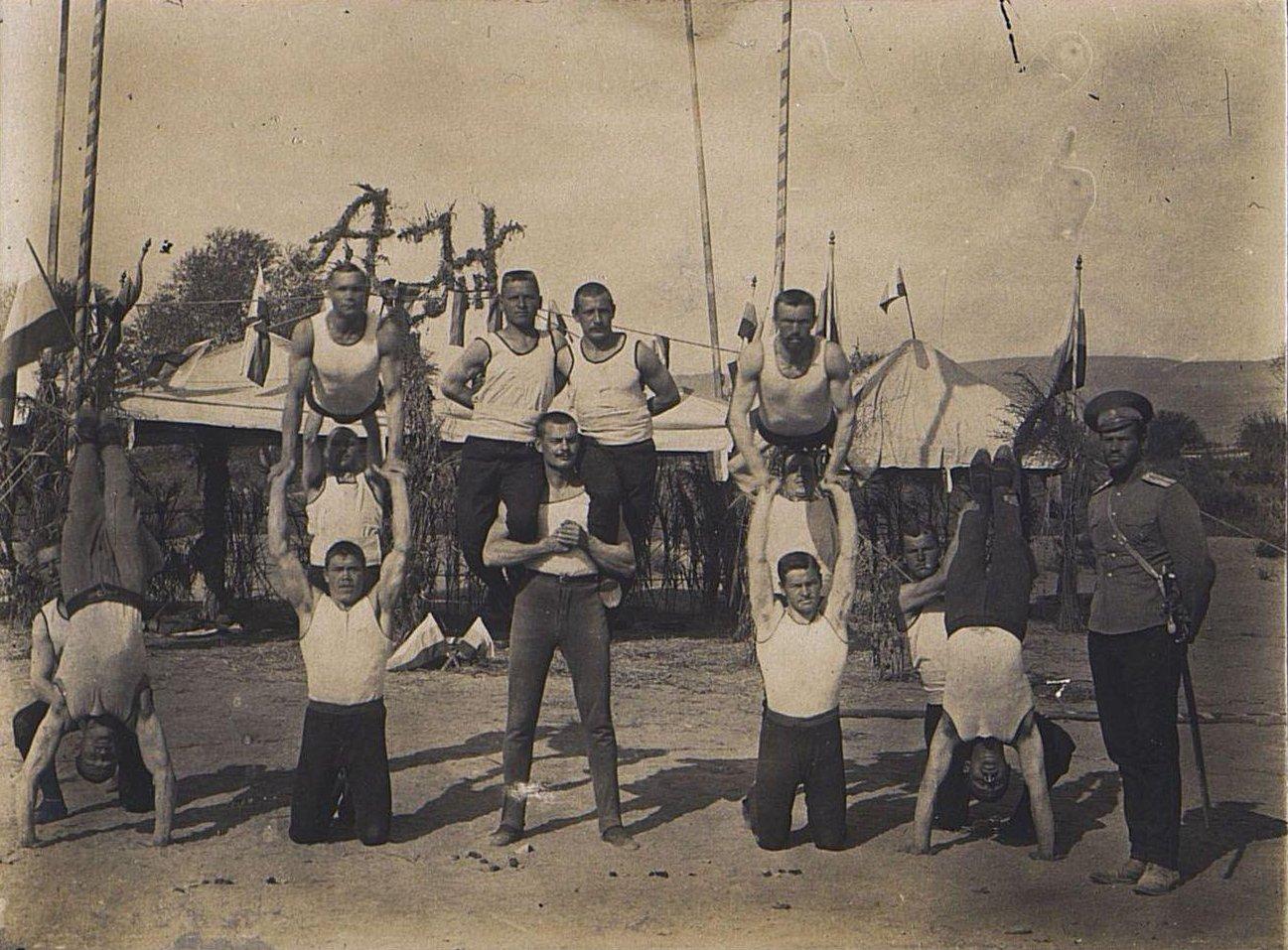 59. Гимнастические упражнения
