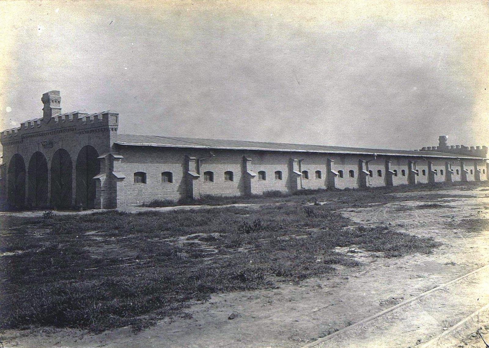 37. Здание казармы
