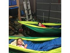 garage hammock