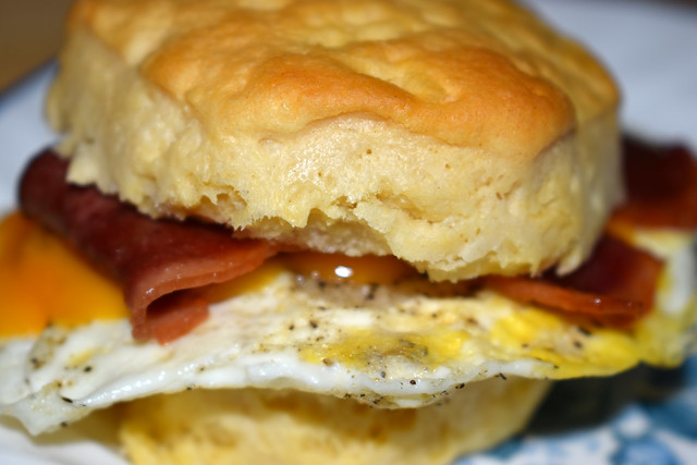 Bacon Egg And Cheese Biscuit.