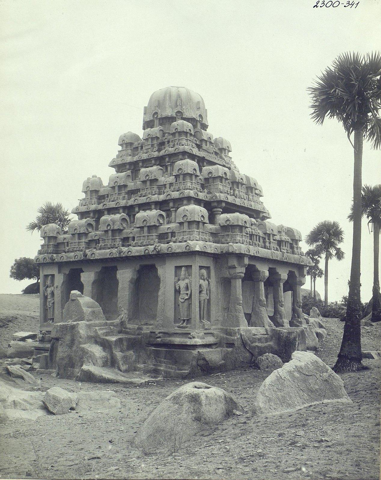 Мамаллапур (общий вид храма) (1)