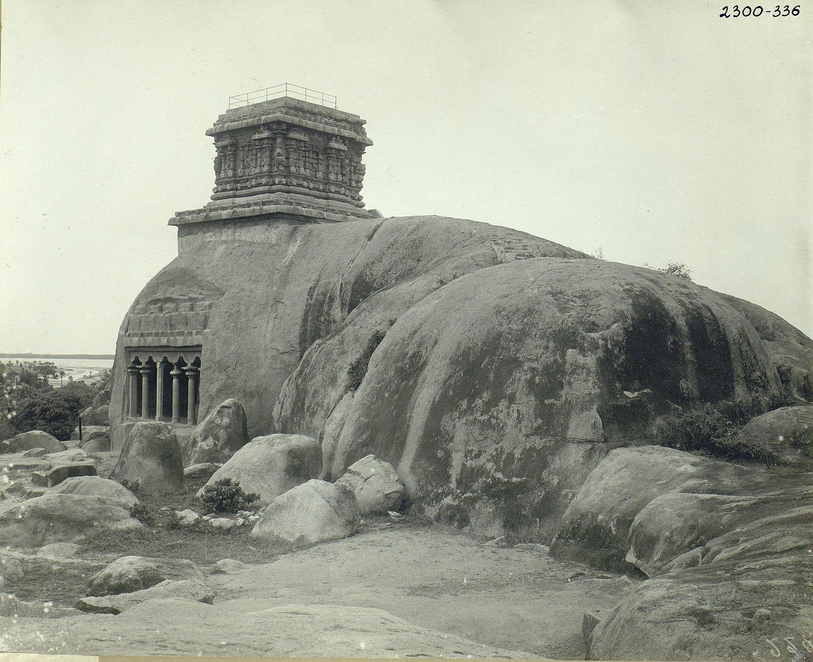 Мамаллапур (общий вид местности, в которой находятся храмы) (11)