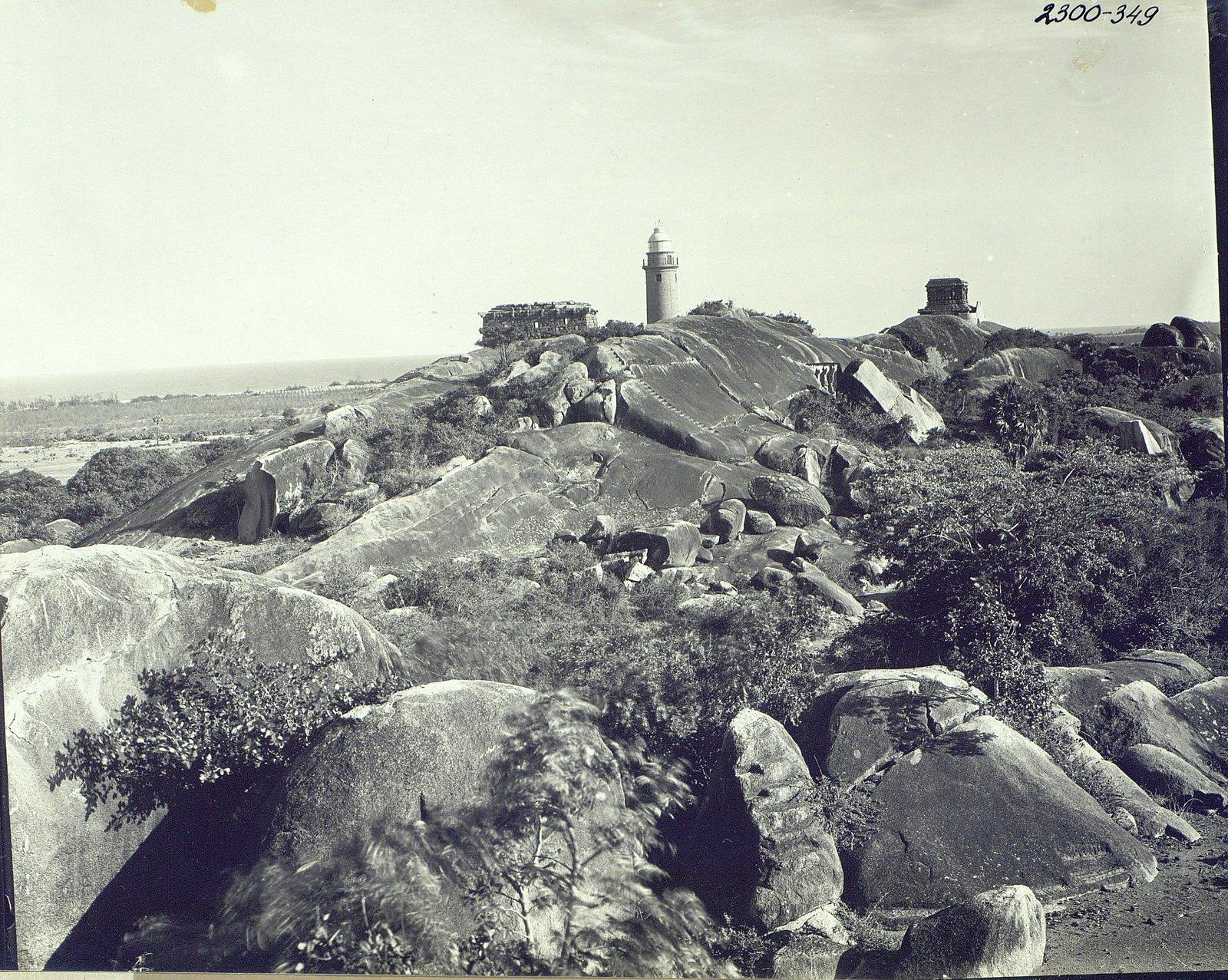 Мамаллапур (общий вид местности, в которой находятся храмы) (5)