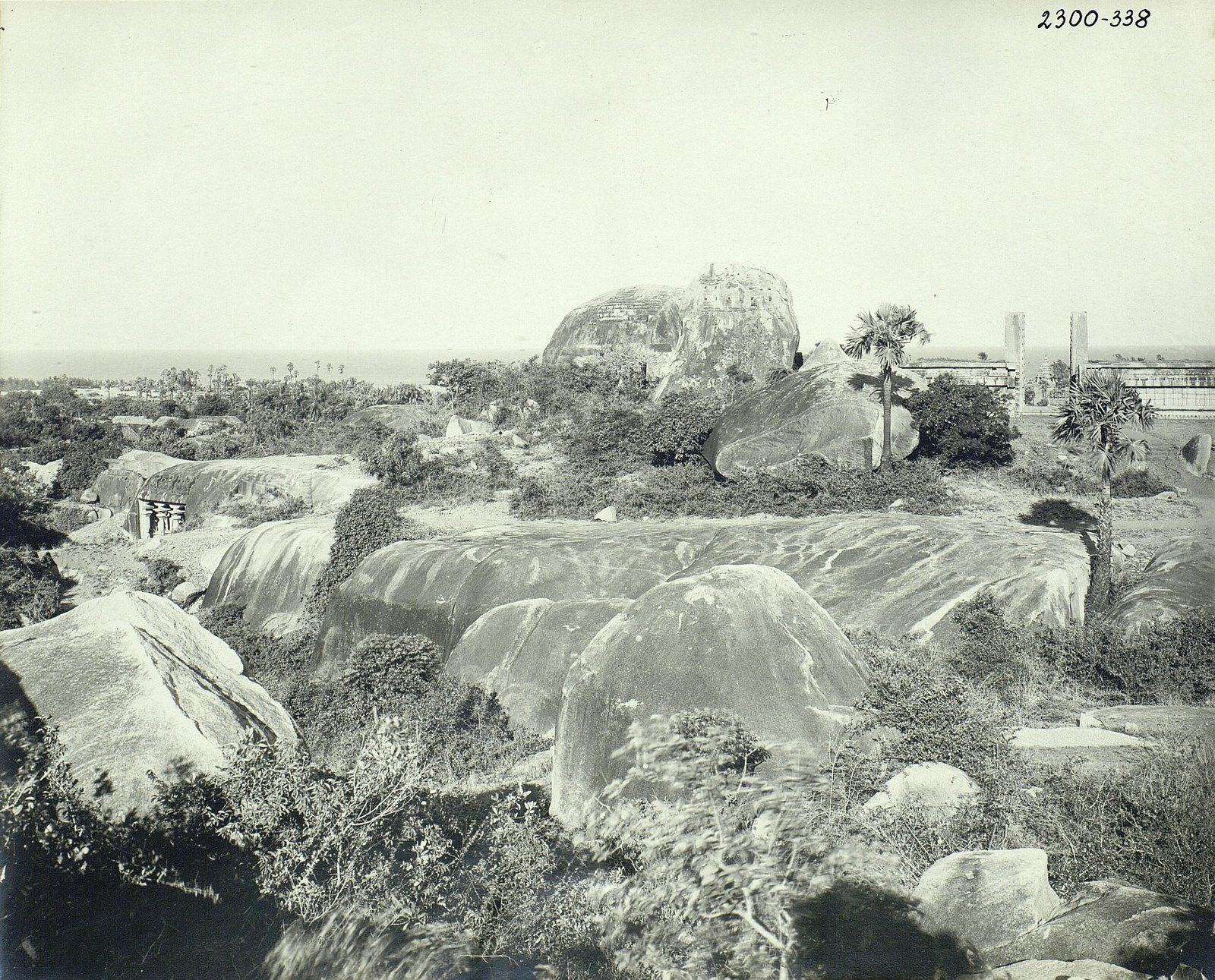 Мамаллапур (общий вид местности, в которой находятся храмы) (1)