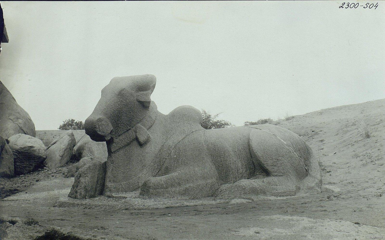 Мамаллапур (изваяние священного быка)