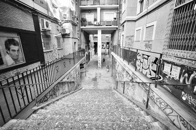 Escaleras - Voigtlander Bessa L