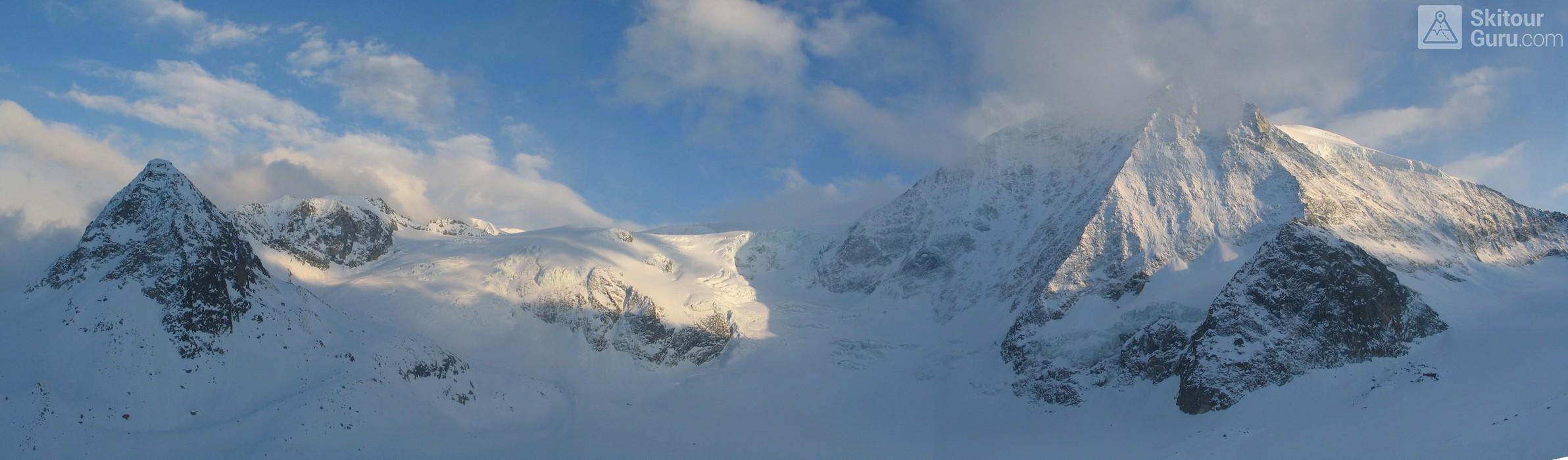 Cabane des Dix Walliser Alpen / Alpes valaisannes Switzerland panorama 14