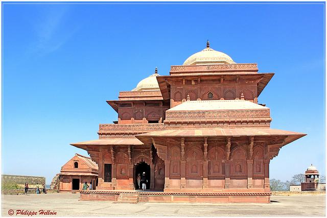 Daulat Khana  à Fatehpur Sikri