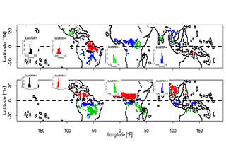 """soil moisture changes during """"Super El Niño"""" events"""