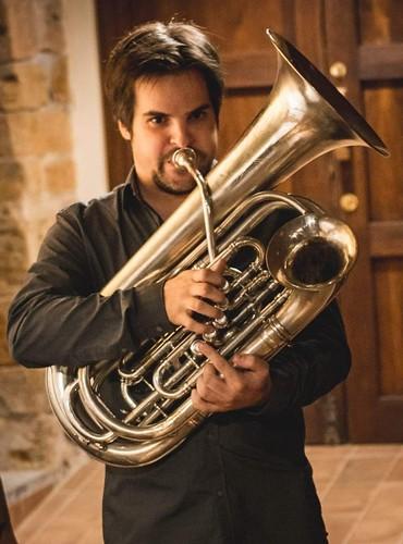 Oscar Abella Double Bell Euphonium Tuba Jaialdia