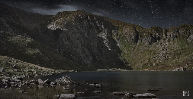 Llyn Idwal and Devils Kitchen.