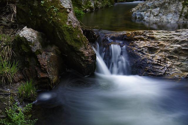 Natura...agua y rocas