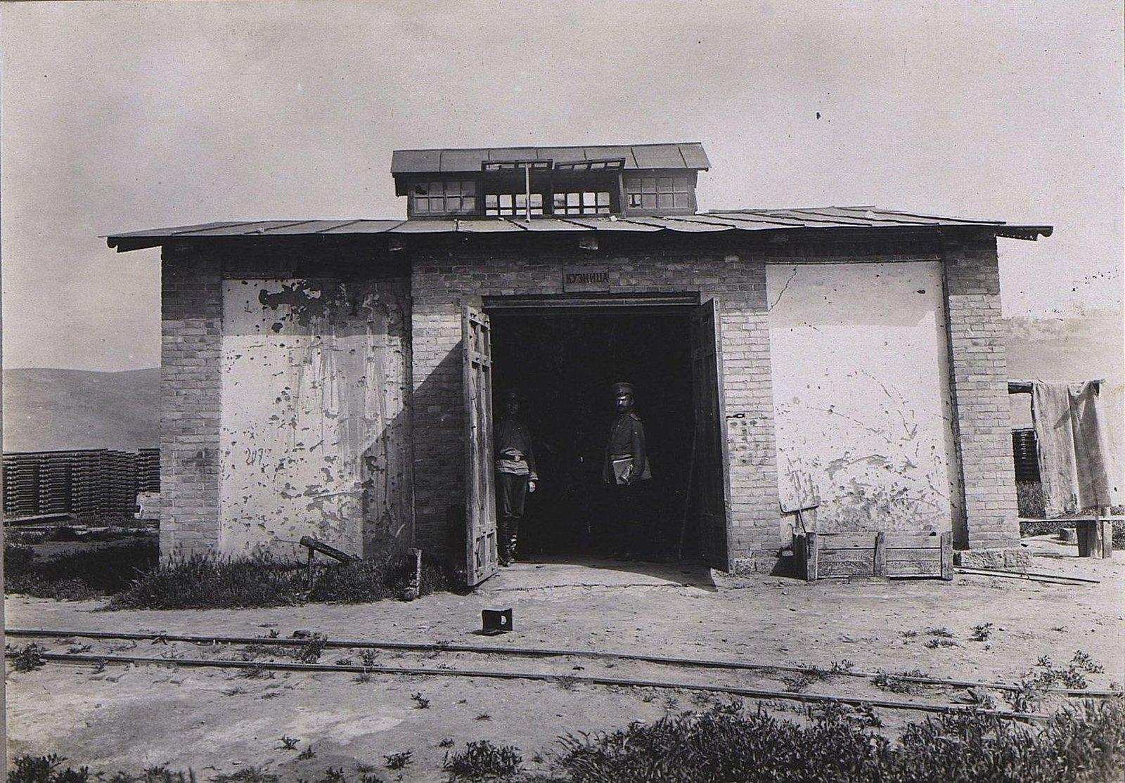 31. Каменное здание кузницы