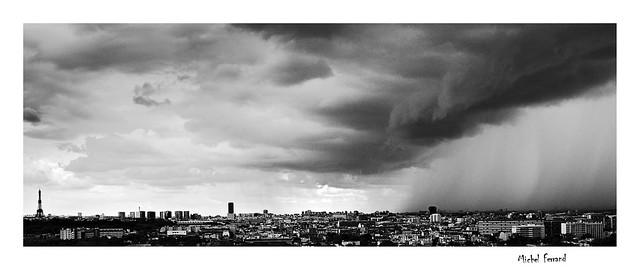 Tempête sur Paris   Storm on Paris
