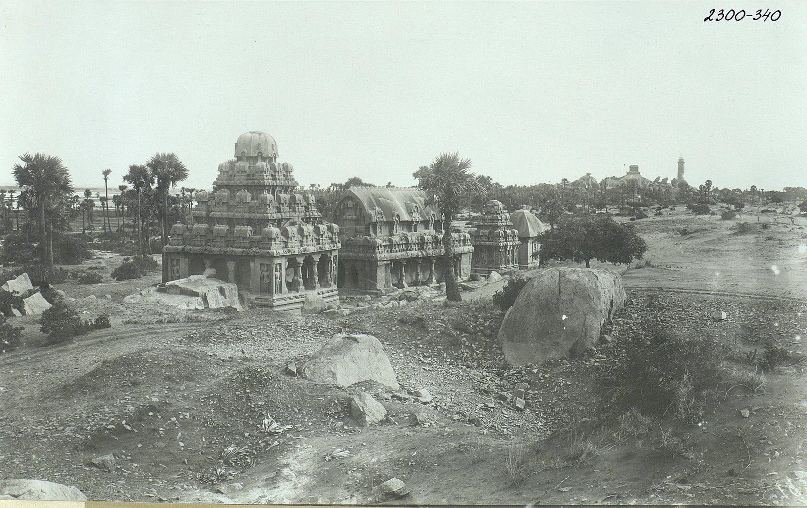 Мамаллапур (общий вид храма) (8)
