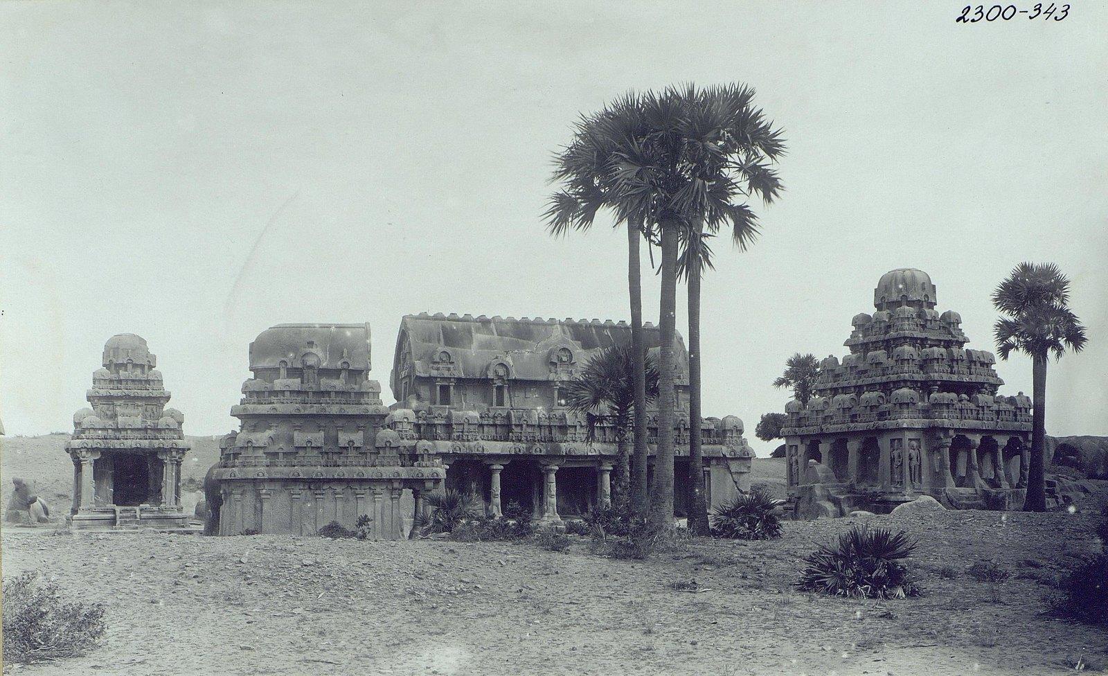 Мамаллапур (общий вид храма) (6)