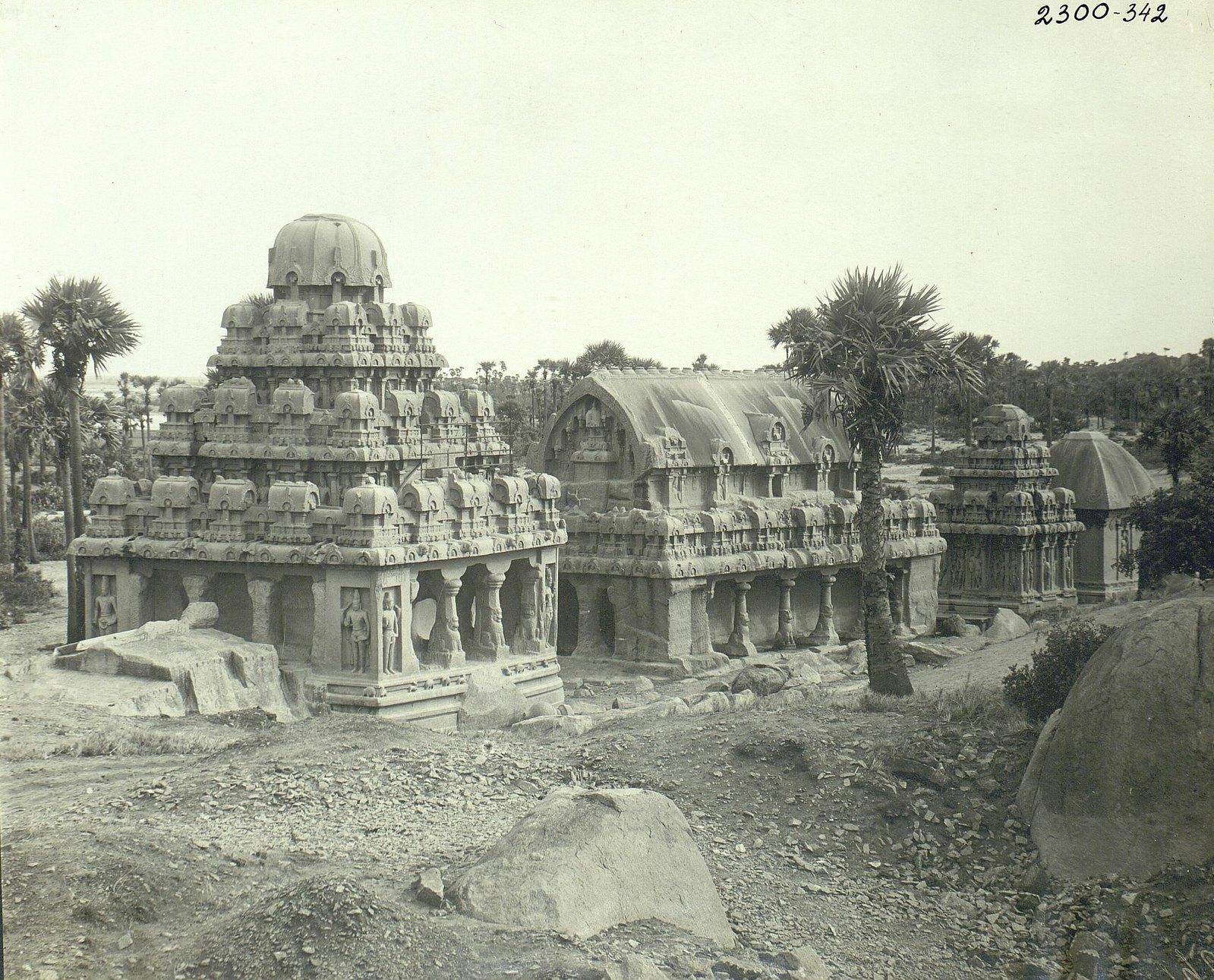 Мамаллапур (общий вид храма) (5)