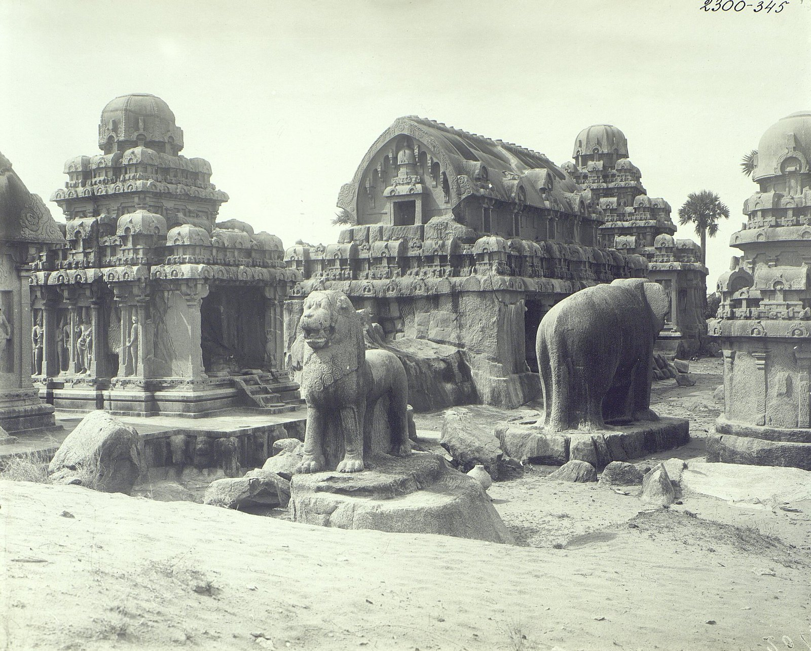 Мамаллапур (общий вид храма) (3)