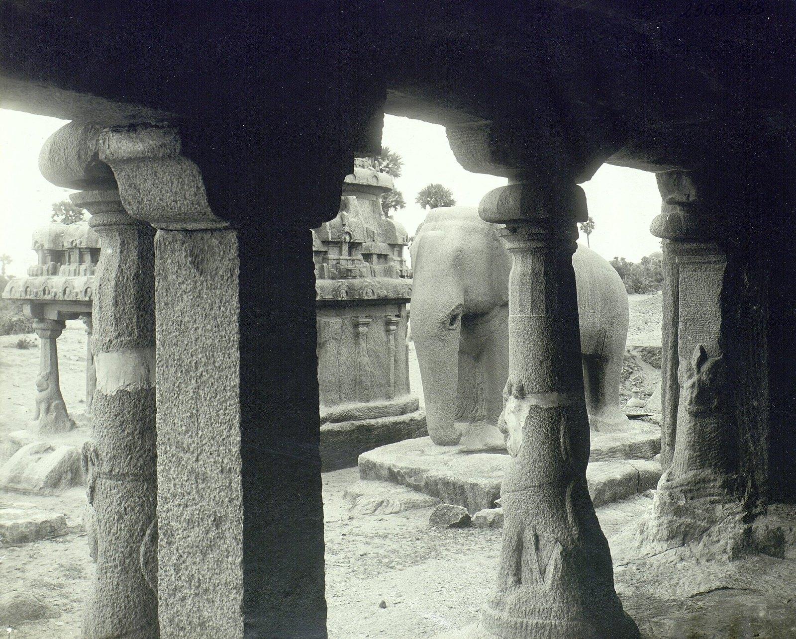Мамаллапур (общий вид храма) (9)