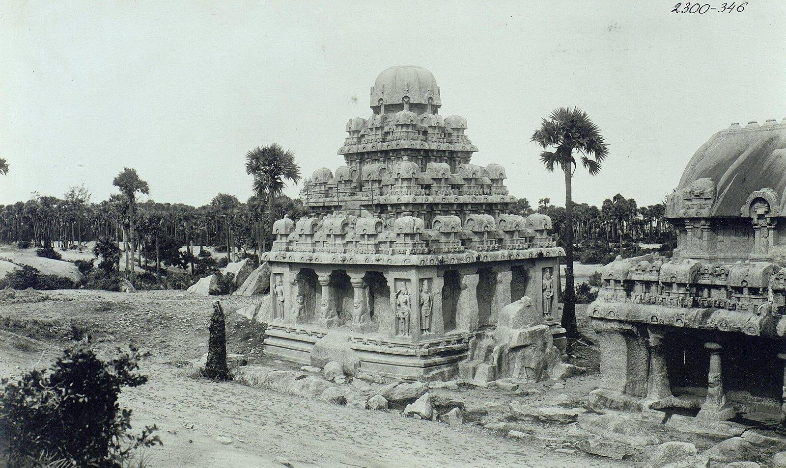Мамаллапур (общий вид храма) (4)
