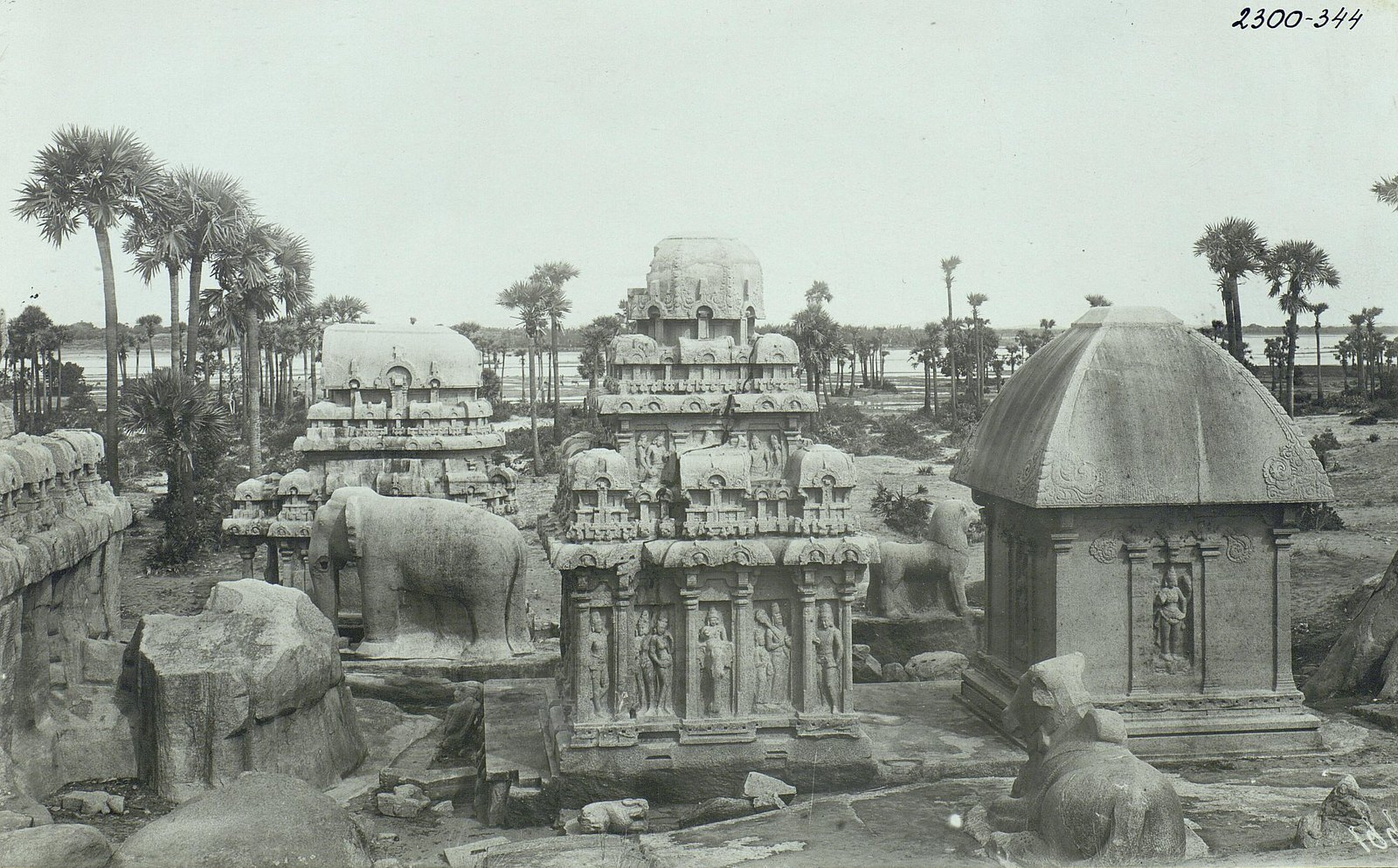 Мамаллапур (общий вид храма) (2)