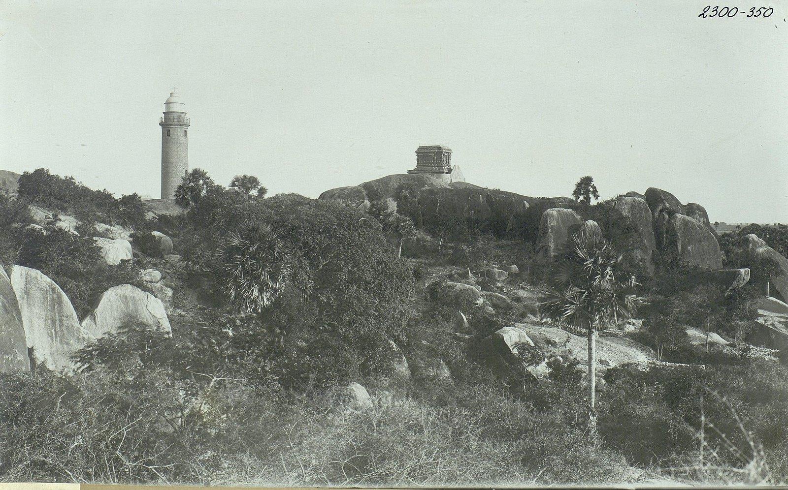 Мамаллапур (общий вид местности, в которой находятся храмы) (3)