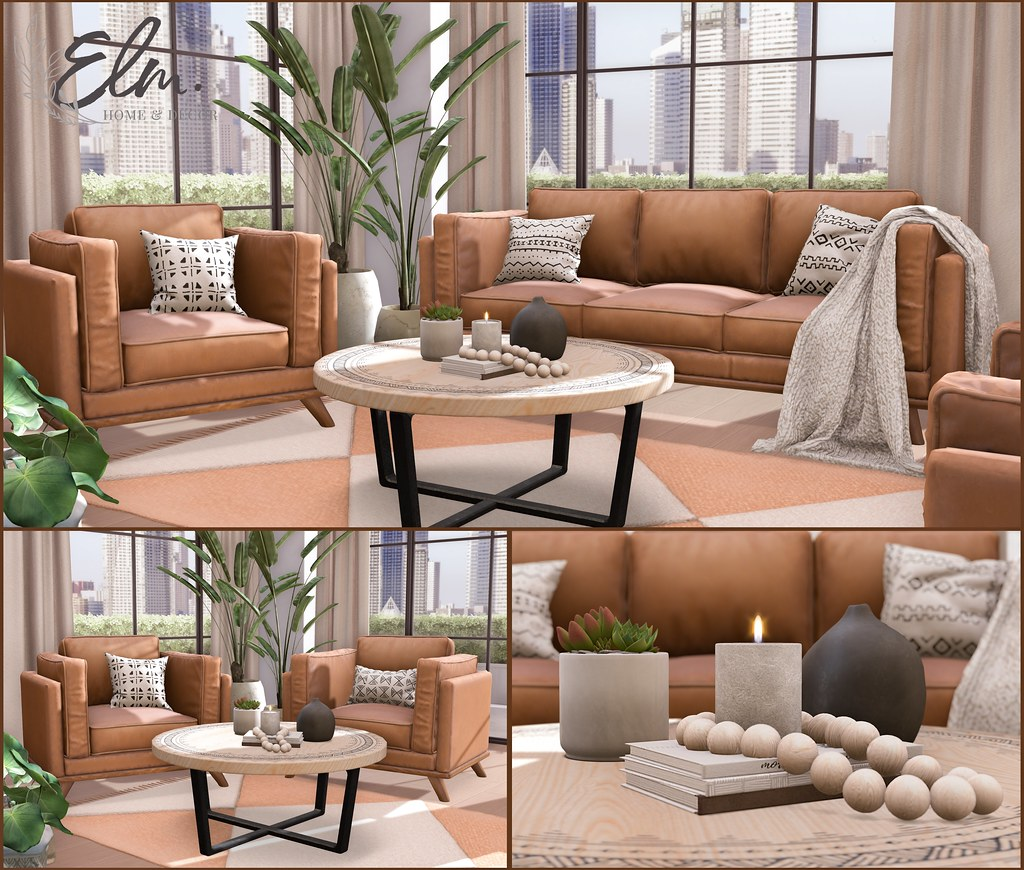 Elm. Anabeth Living Room Collection at Collabor88