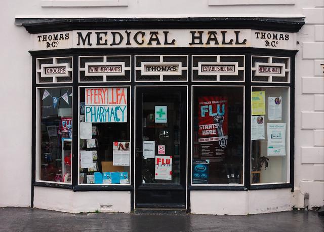 Medical Hall, Aberdyfi
