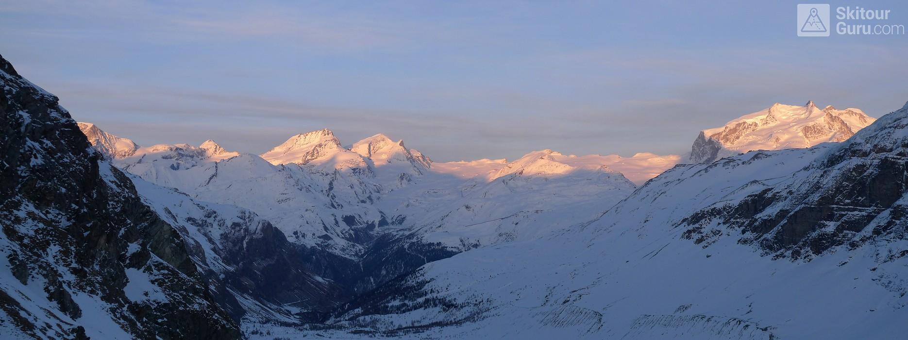 Schönbielhütte Walliser Alpen / Alpes valaisannes Switzerland panorama 23