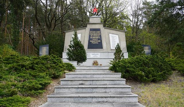 Ort der Erinnerung   Место памяти