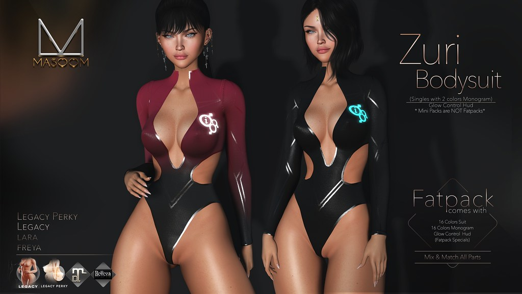 [[ Masoom ]] Zuri Suit @ Cyber Punk Event