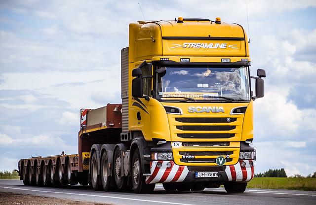 Scania R560 V8 Streamline