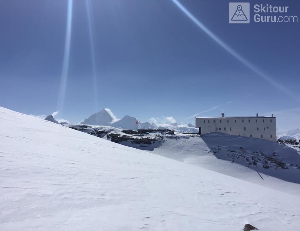 Cabane Tracuit Walliser Alpen / Alpes valaisannes Švýcarsko foto 02