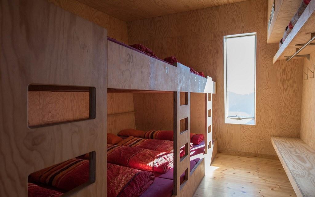 Cabane Tracuit Walliser Alpen / Alpes valaisannes Švýcarsko foto 05