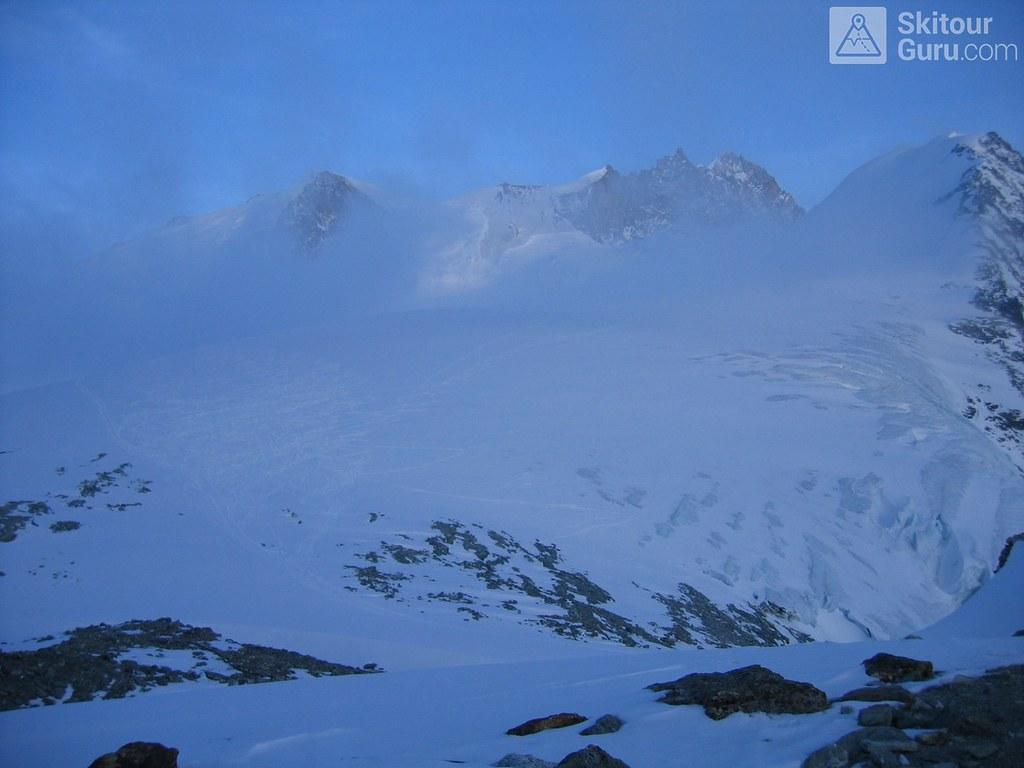 Cabane Tracuit Walliser Alpen / Alpes valaisannes Švýcarsko foto 11