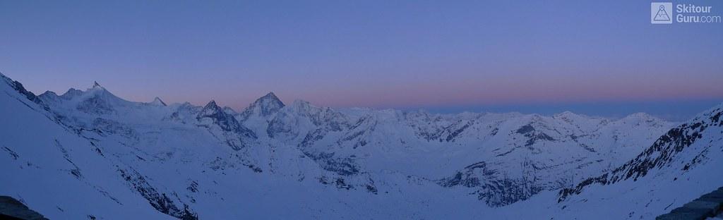 Cabane Tracuit Walliser Alpen / Alpes valaisannes Švýcarsko foto 21