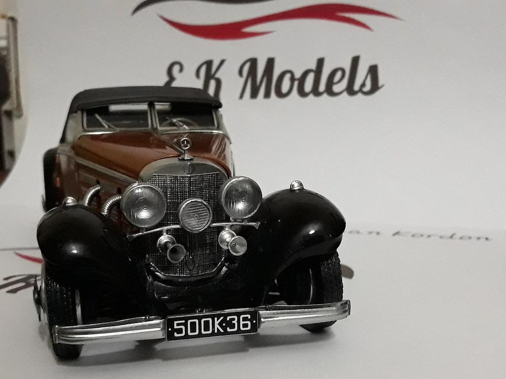 1936 Mercedes 500K  1/24 Heller...