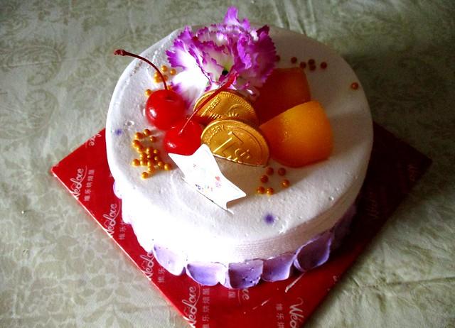 WeLove vanilla blueberry cake