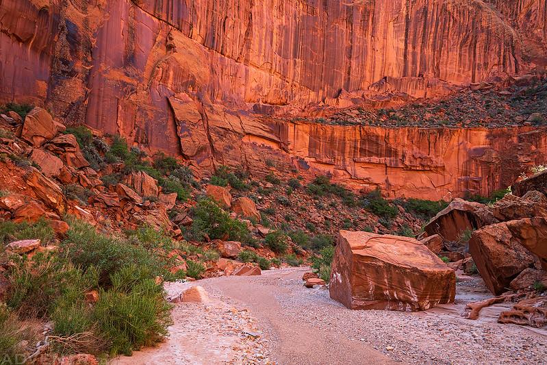 Big Canyon Wall