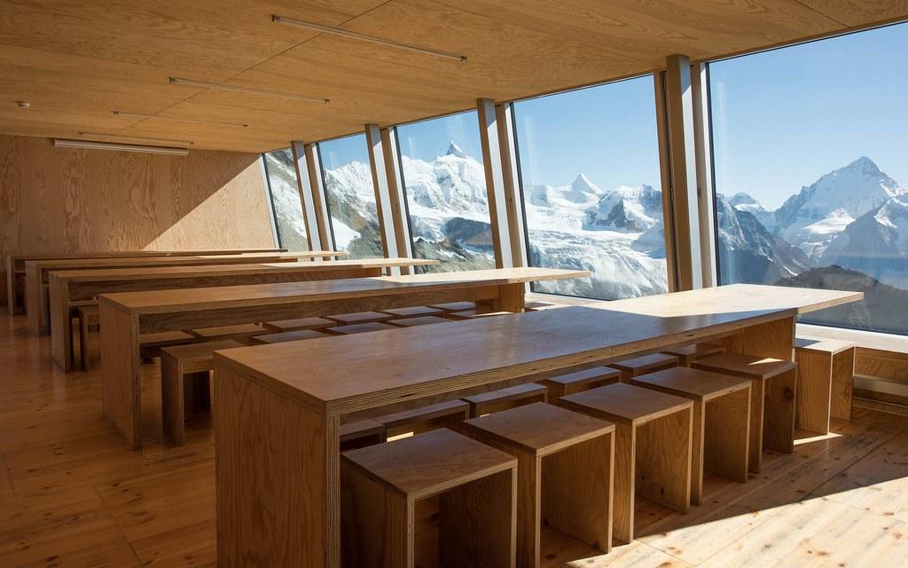 Cabane Tracuit Walliser Alpen / Alpes valaisannes Švýcarsko foto 04