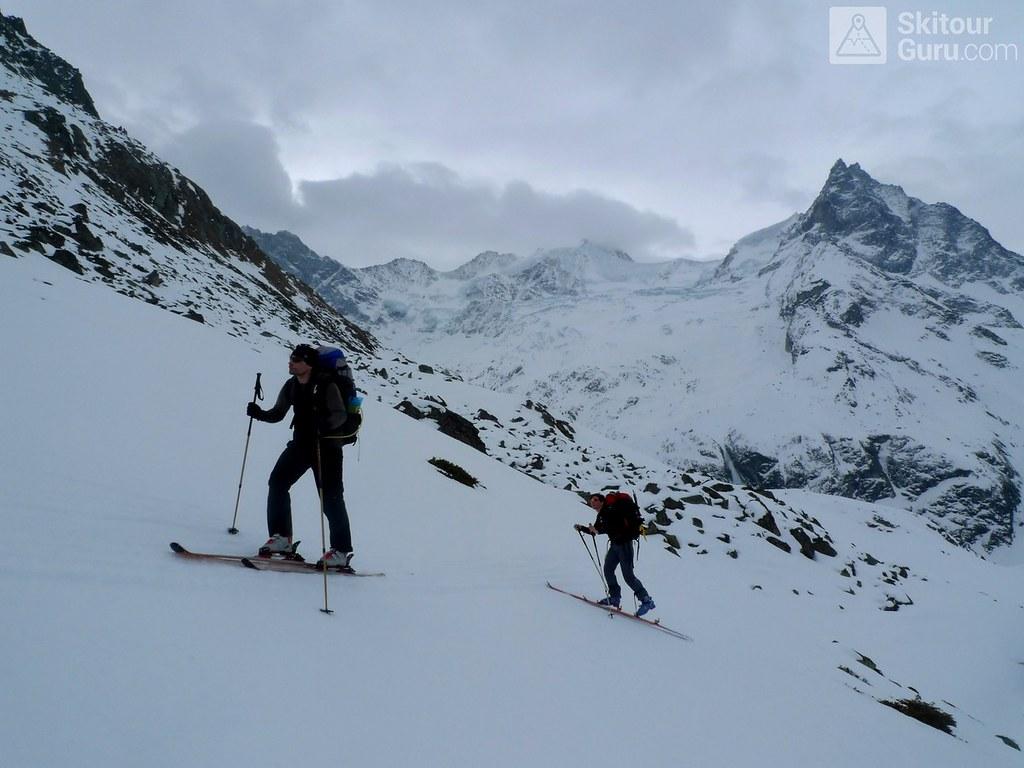 Cabane Tracuit Walliser Alpen / Alpes valaisannes Švýcarsko foto 12